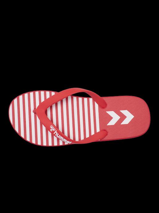 HML FLIP FLOP, HIGH RISK RED, packshot
