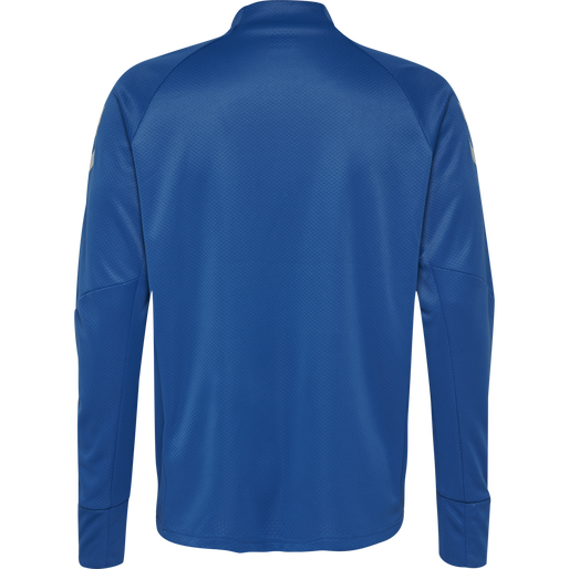 TECH MOVE KIDS HALF ZIP SWEATSHIRT, TRUE BLUE, packshot