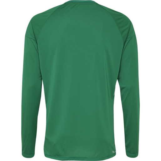 TECH MOVE KIDS JERSEY L/S, SPORTS GREEN, packshot