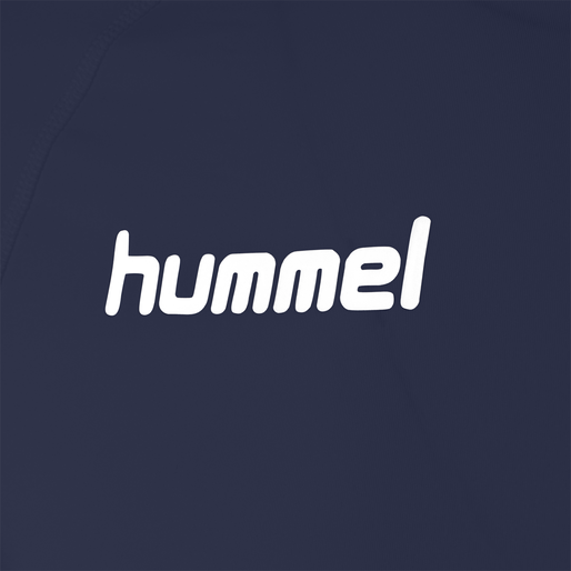 HUMMEL FIRST PERFORMANCE JERSEY L/S, MARINE, packshot