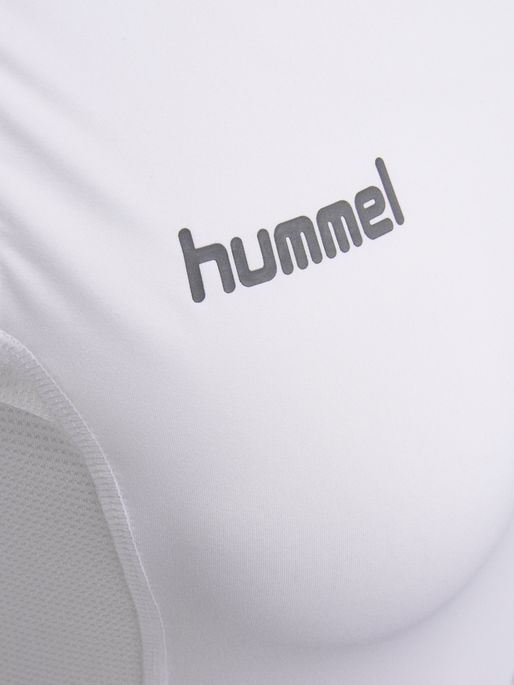 HUMMEL FIRST PERF SS WO JERSEY, WHITE, packshot