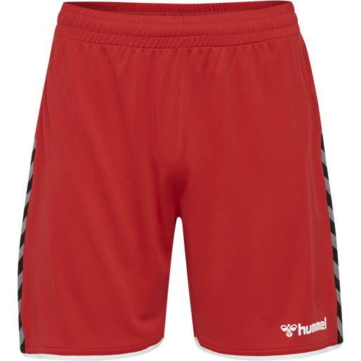 hmlAUTHENTIC KIDS POLY SHORTS, TRUE RED, packshot