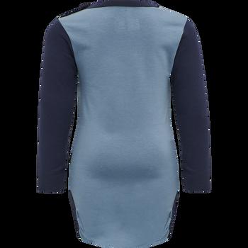 hmlNORTH BODY L/S, PROVINCIAL BLUE, packshot