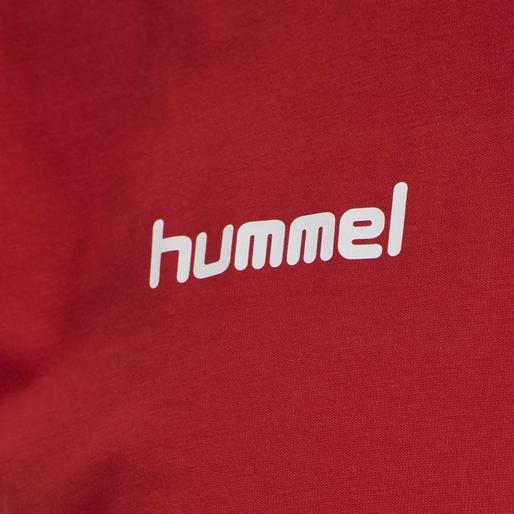 HUMMEL GO KIDS COTTON T-SHIRT S/S, !TRUE RED, packshot
