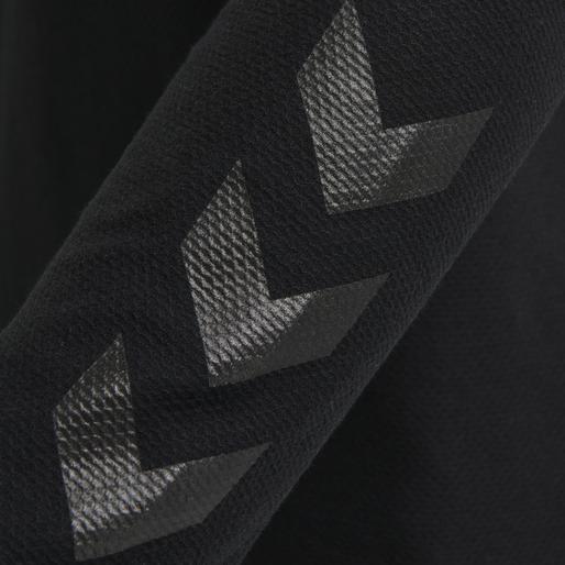 hmlJAREL T-SHIRT L/S, BLACK, packshot