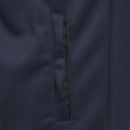 hmlARNE ZIP JACKET, BLACK IRIS, packshot
