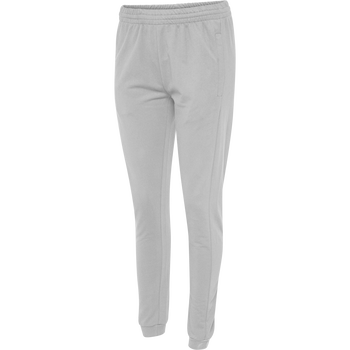 HUMMEL GO COTTON PANTS WOMAN, GREY MELANGE, packshot