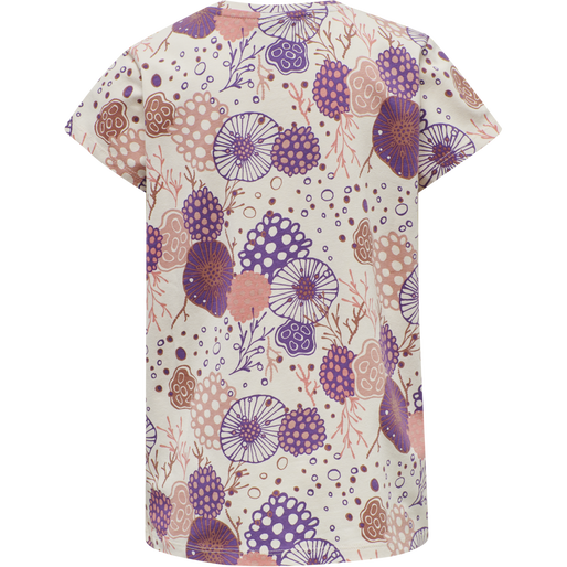 hmlCORAL T-SHIRT S/S, MOTHER OF PEARL, packshot