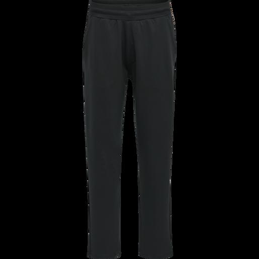 hmlLUISE LOOSE PANTS, BLACK, packshot