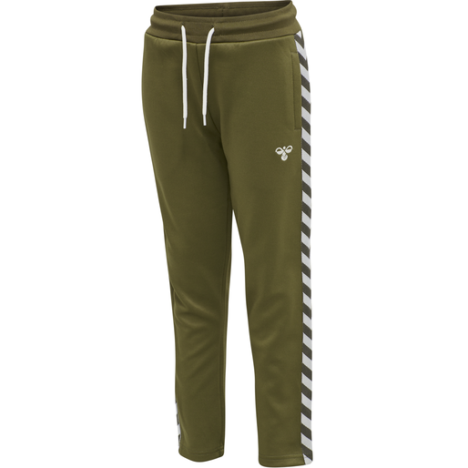 HMLKICK PANTS, MILITARY OLIVE, packshot