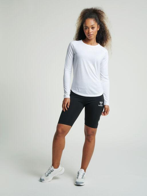 hmlSOMMER CYCLING SHORTS, BLACK, model
