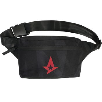 ASTRALIS BUM BAG, BLACK, packshot