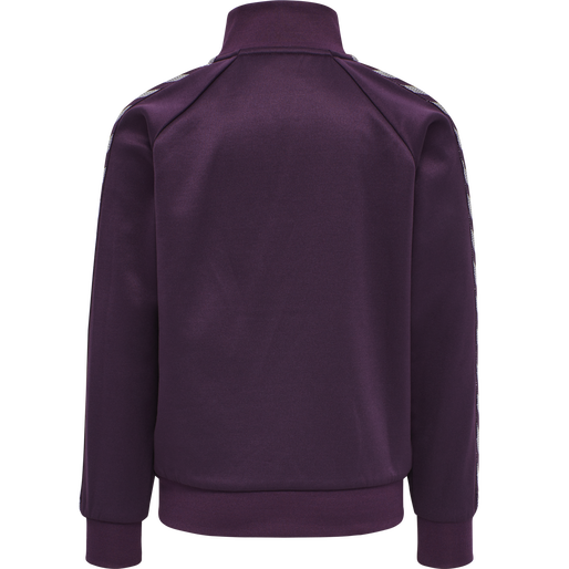 HMLKICK ZIP JACKET, BLACKBERRY WINE, packshot