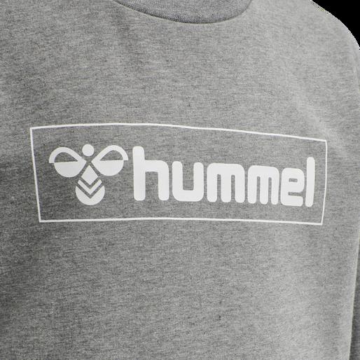 hmlBOX SWEATSHIRT, MEDIUM MELANGE, packshot