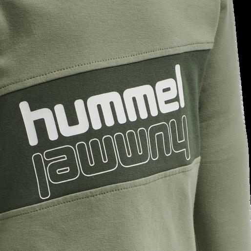 hmlCLEMENTINO T-SHIRT L/S, VETIVER, packshot