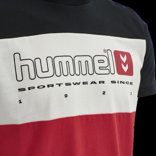 hmlLGC MUSA T-SHIRT, TRUE RED, packshot