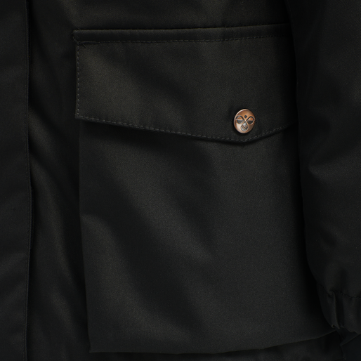 hmlWEST JACKET, BLACK IRIS, packshot