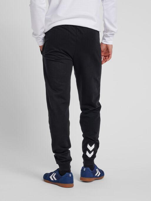 HUMMEL GO COTTON PANT, BLACK, model
