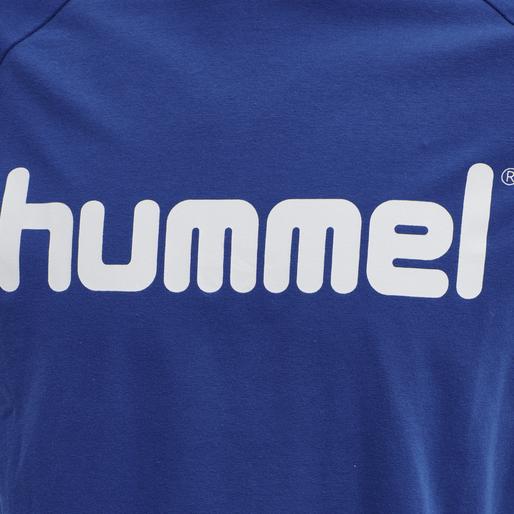 hmlBAY T-SHIRT S/S, MAZARINE BLUE, packshot