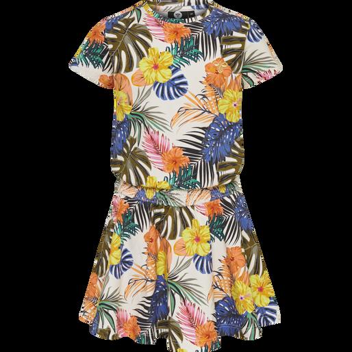 hmlJOHANNE DRESS S/S, WHISPER WHITE, packshot