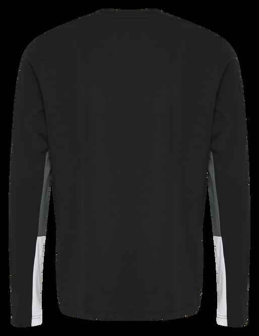 hmlNORTH T-SHIRT L/S, BLACK, packshot