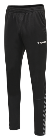 hmlAUTHENTIC KIDS TRAINING PANT, BLACK/WHITE, packshot