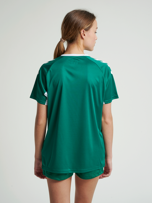CORE TEAM JERSEY WOMAN S/S, EVERGREEN, model