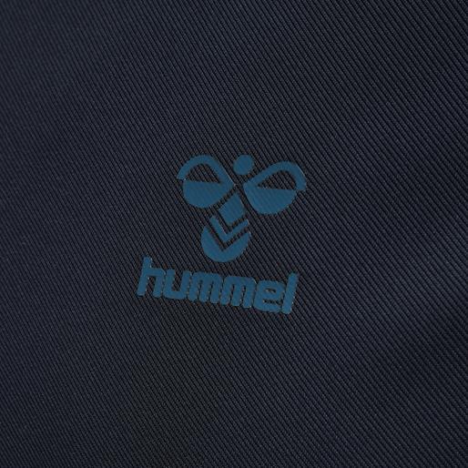 hmlACTION HALF ZIP SWEAT, DARK SAPPHIRE/BLUE CORAL, packshot