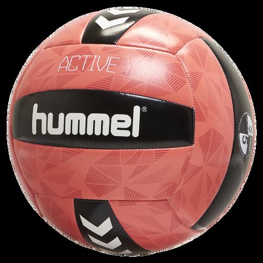 hmlACTIVE VOLLEY BALL, BLACK/PINK, packshot