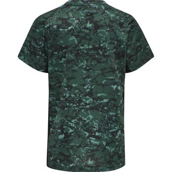 hmlNOAH T-SHIRT S/S, MALLARD GREEN, packshot