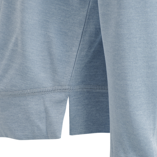 hmlSTEFF T-SHIRT L/S, BLUE FOG, packshot