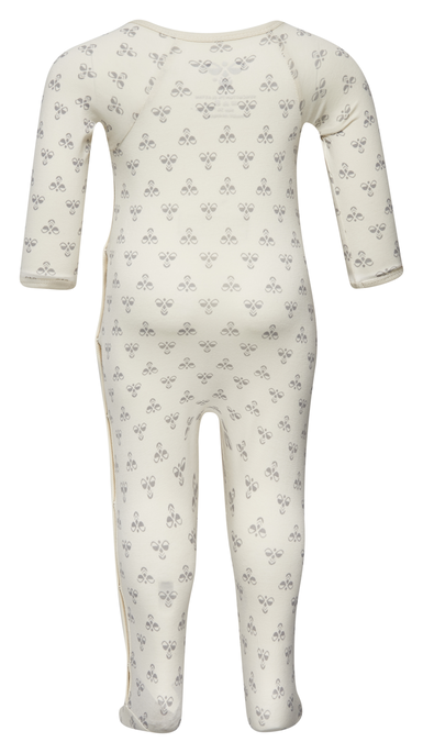 HMLBABY BEE BODYSUIT L/S, BIRCH, packshot
