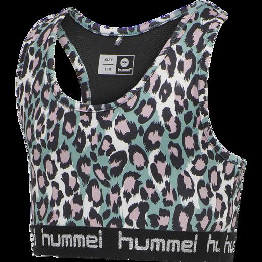 hmlMIMMI SPORTS TOP, OIL BLUE, packshot