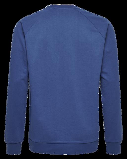 HUMMEL GO KIDS COTTON LOGO SWEATSHIRT, TRUE BLUE, packshot