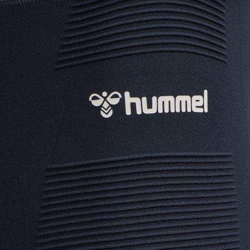 hmlCUBE SEAMLESS TAPERED PANTS, BLUE NIGHTS, packshot