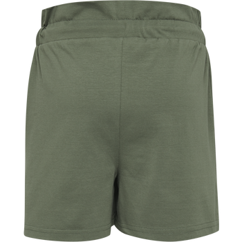 hmlARLINDA SHORTS, DEEP LICHEN GREEN, packshot