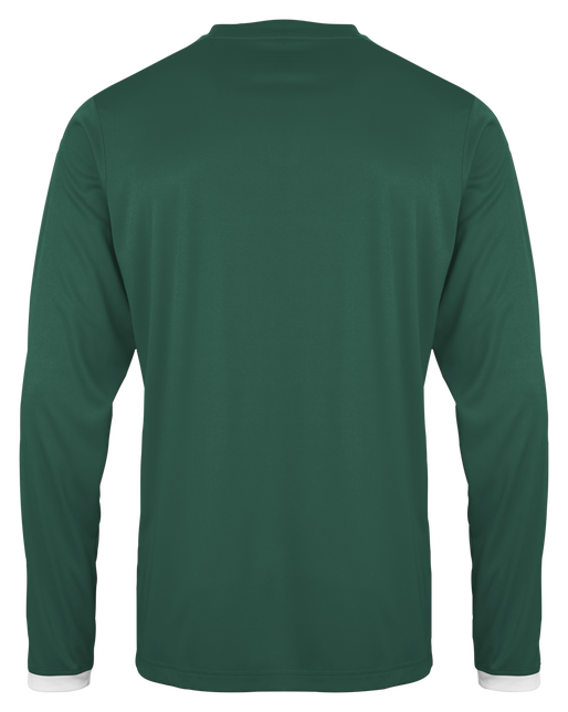 CORE LS POLY JERSEY, EVERGREEN PR, packshot