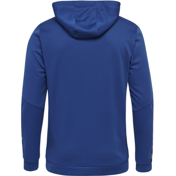 hmlAUTHENTIC POLY ZIP HOODIE, TRUE BLUE, packshot