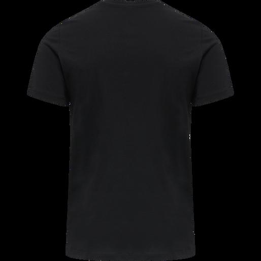 hmlLIMO T-SHIRT, BLACK, packshot