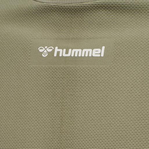 hmlCUBE SEAMLESS T-SHIRT, VETIVER, packshot