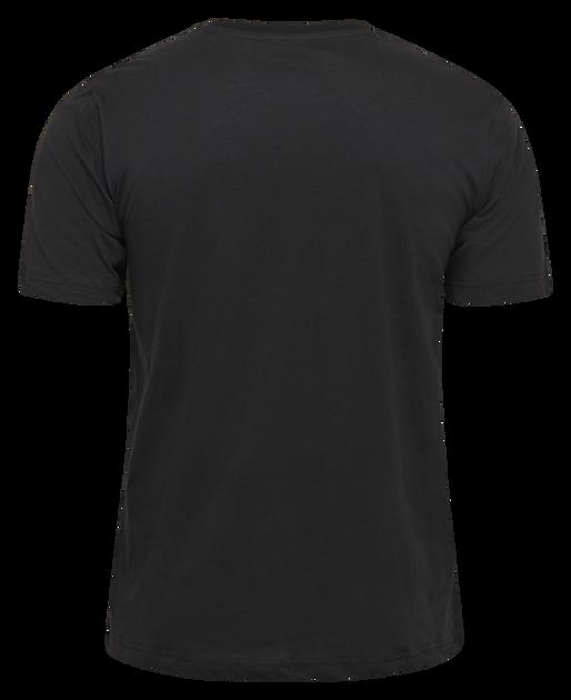 hmlVALTER T-SHIRT S/S, BLACK, packshot