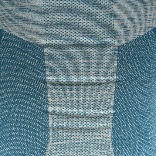 hmlCLEA SEAMLESS TOP, BLUE CORAL/MARSHMALLOW, packshot