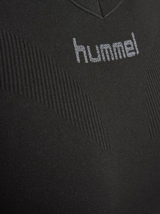 HUMMEL FIRST COMFORT SS WO JER, BLACK, packshot