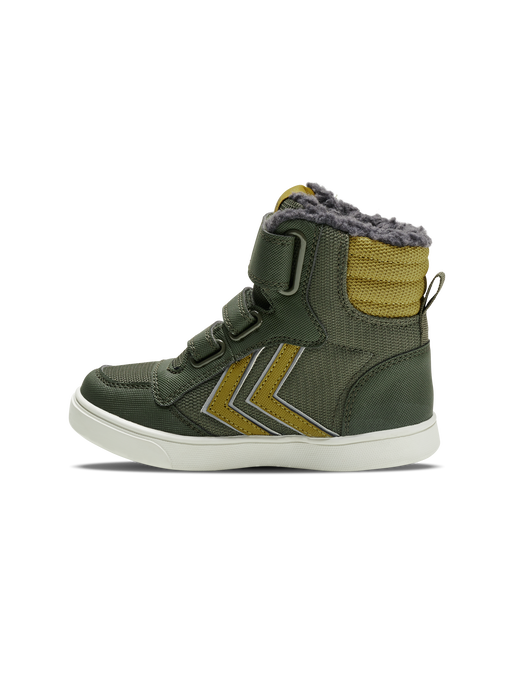 STADIL SUPER POLY BOOT MID JR, OLIVE NIGHT, packshot