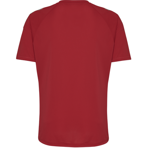 TECH MOVE KIDS JERSEY S/S, TRUE RED, packshot