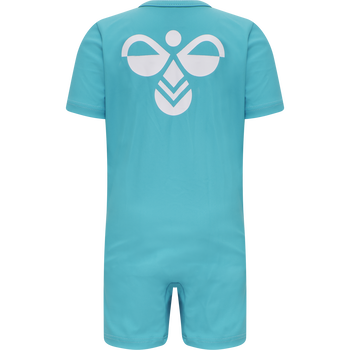 hmlDREW BODYSUIT, SCUBA BLUE, packshot