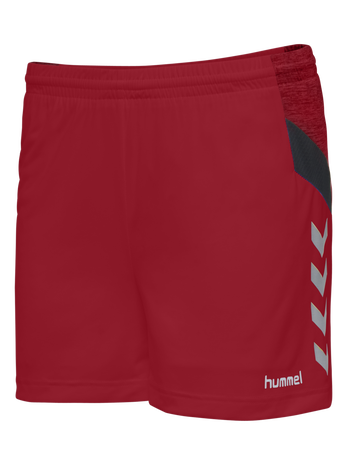 TECH MOVE POLY SHORTS WOMAN, TRUE RED, packshot