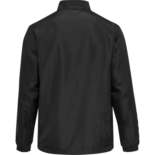 hmlAUTHENTIC MICRO JACKET, BLACK/WHITE, packshot