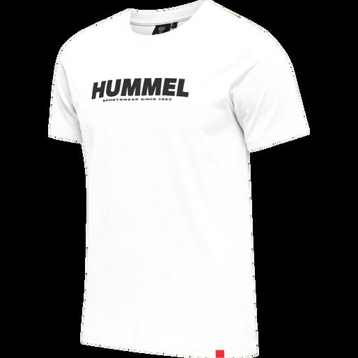 hmlLEGACY T-SHIRT, WHITE, packshot