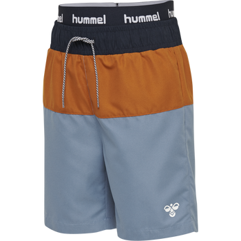 hmlGARNER BOARD SHORTS, COPEN BLUE, packshot